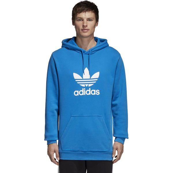 Bluza Z Kapturem Adidas Orginals TS TRF Hoody Niebieskoszary