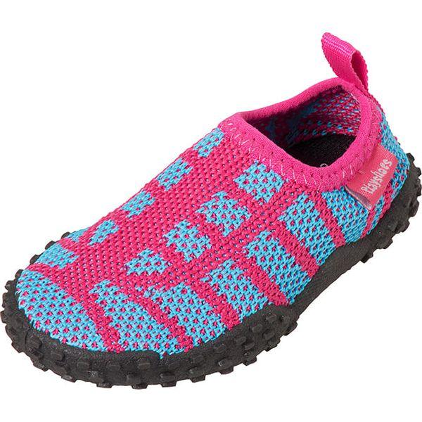 13c198da Buty kąpielowe w kolorze różowo-turkusowym - Buciki dla niemowląt ...