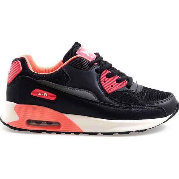 Czarne obuwie sportowe B306A 41