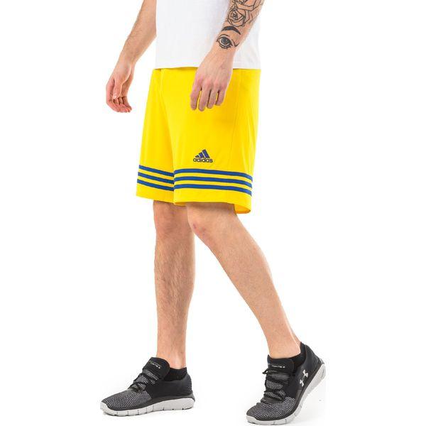 Adidas Spodenki męskie Entrada 14 żółte r. XL (F50635)