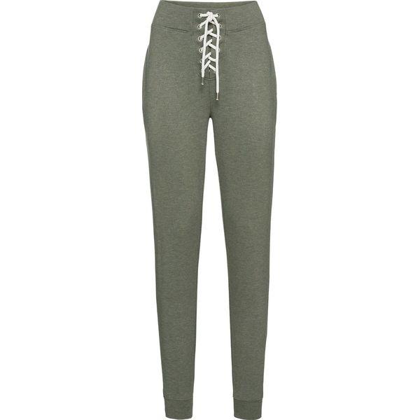 6e794d4c5c Spodnie dresowe bonprix oliwkowy - Spodnie dresowe damskie marki ...
