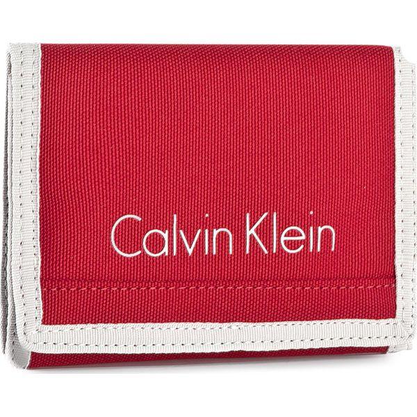 ecf5a441b3c6c Duży Portfel Męski CALVIN KLEIN - Col3 Bylon 8CC + Coin K50K502519 ...