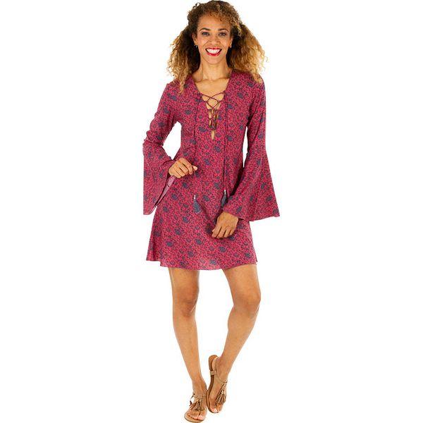 6d512fac98 Sukienka w kolorze różowym - Czerwone sukienki damskie marki Aller ...