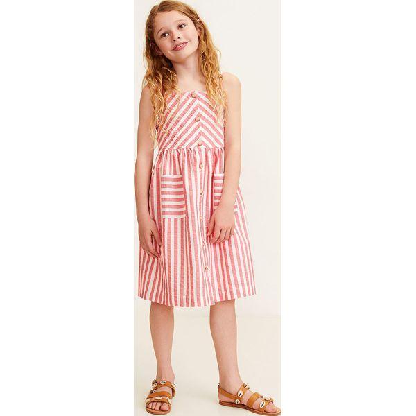 b3e0987d51 Mango Kids - Sukienka dziecięca Luna 110-152 cm - Sukienki ...