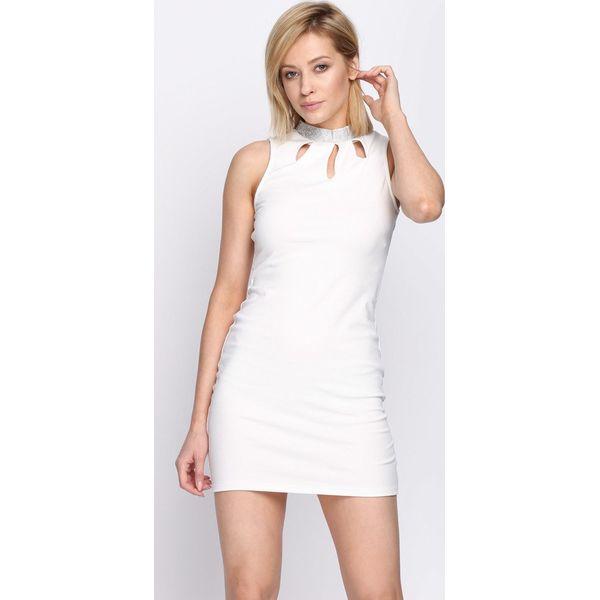 4fafb2112b Biała Sukienka Show Goes On - Białe sukienki damskie marki Born2be ...