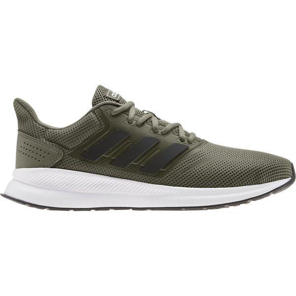 Adidas buty do biegania męskie RunfalconRawkhaCblackFtwwht 43,3