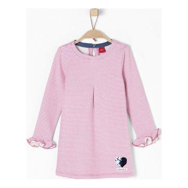 39a9ec5cf1 S.Oliver Sukienka Dziewczęca 110 Różowy - Sukienki dziewczęce marki S.Oliver.  W wyprzedaży za 89.00 zł. - Sukienki dziewczęce - Ubrania dla dziewczynek  ...