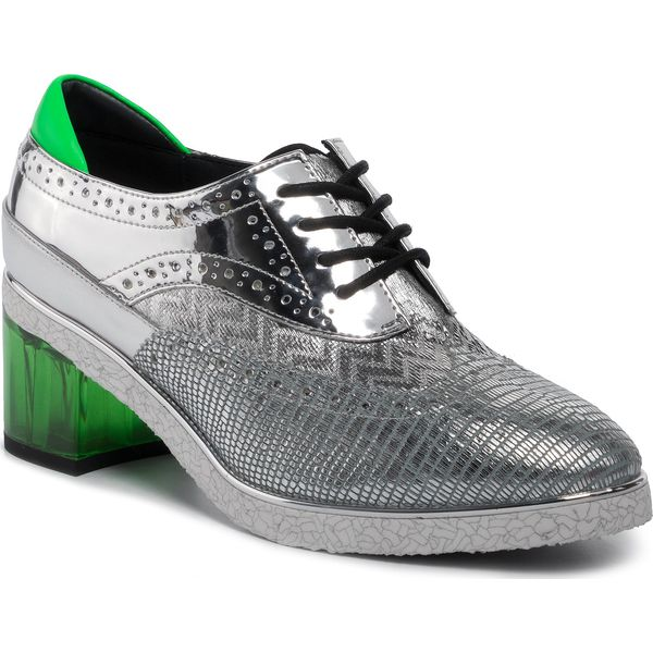 Półbuty UNITED NUDE Brogue 103081416 Silver