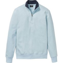 df3b68a1f122 Bluza z zamkiem bonprix jasnoniebieski melanż. Bluzy bez kaptura męskie  marki bonprix. Za 74.99