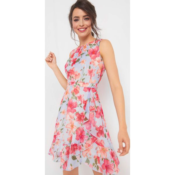 87798aeff7 Sukienka w kwiaty z falbaną - Sukienki damskie marki ORSAY. Za ...