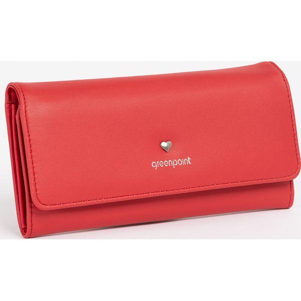 7c7b5d60f0140a Portfel z ozdobnym serduszkiem - Różowe portfele damskie Greenpoint ...