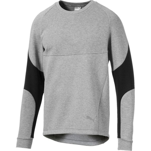 Puma bluza męska Evostripe Crew Medium Gray Heather XXL