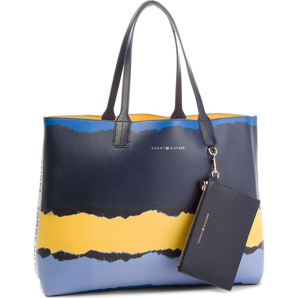 1c26a830abdd6 Torebka TOMMY HILFIGER - Iconic Tommy Tote Pr AW0AW05593 902 ...