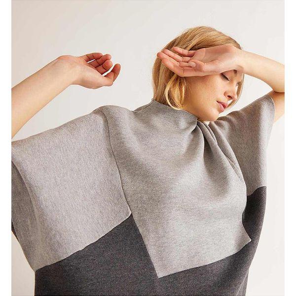 4f74f260 Sweter w kolorze szarym