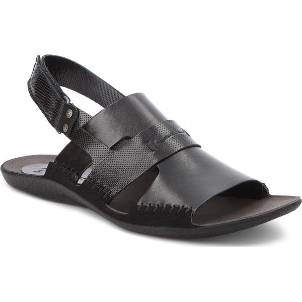 sandały nik męskie czarne