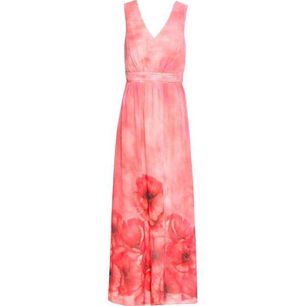 018c78f174 Sukienka letnia w kwiaty bonprix ciemnokoralowy w kwiaty - Sukienki ...