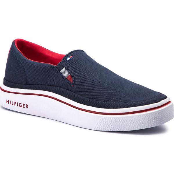 4996818a23ba0 Tenisówki TOMMY HILFIGER - Lightweight Slip On Sneaker FM0FM02060 ...