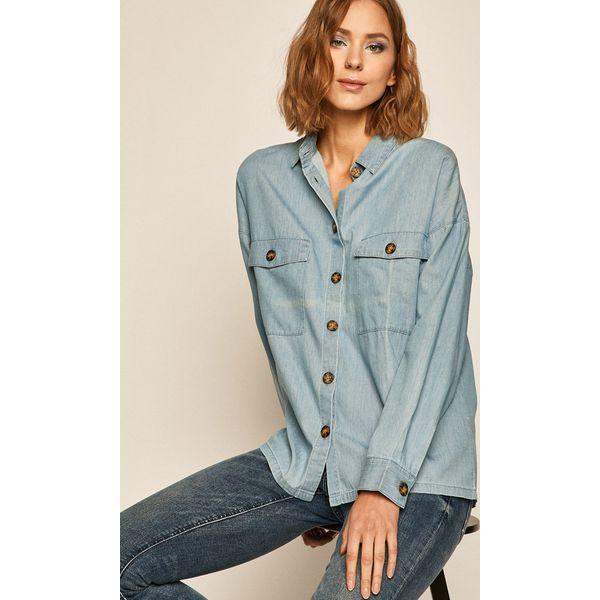 Medicine Koszula jeansowa Western Horizons Niebieskie  Co2VL