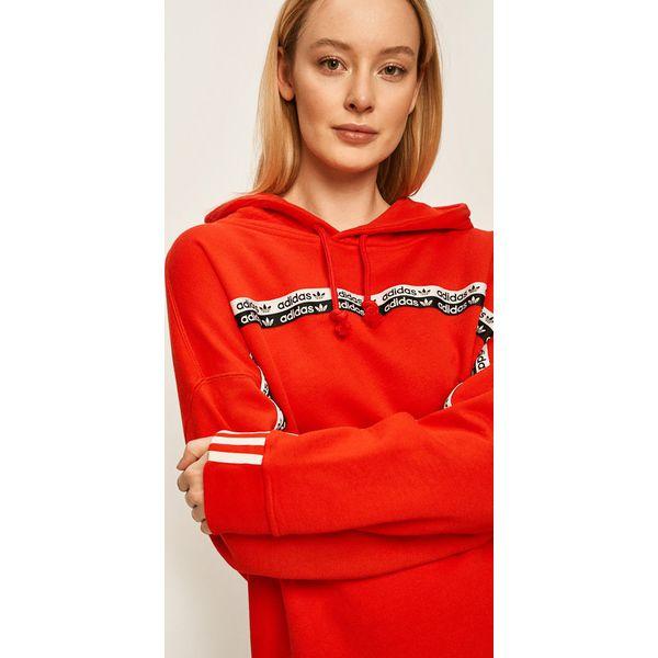 adidas bluza damska czerwona