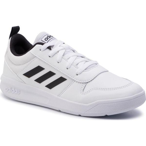 Białe obuwie sportowe damskie Adidas, na fitness i siłownię