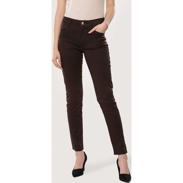 d927bfc7 Brązowe Spodnie Conformable