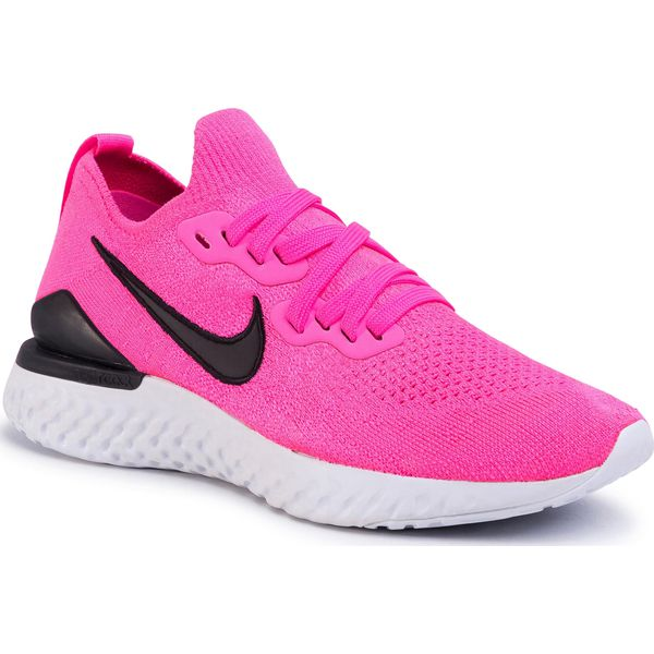 Nike Running – Free Run Flyknit – Bordowe buty sportowe w odcieniu berry