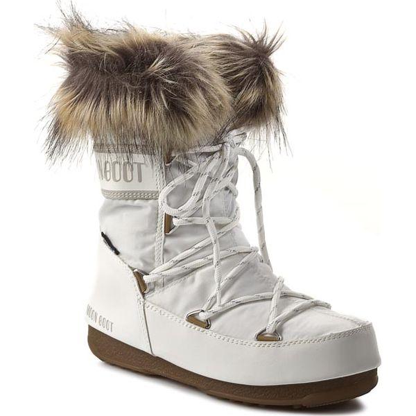 db020691 Śniegowce MOON BOOT - Monaco Low 24002900002 Bianco/White - Śniegowce  damskie Moon Boot. W wyprzedaży za 449.00 zł. - Śniegowce damskie - Obuwie  zimowe ...