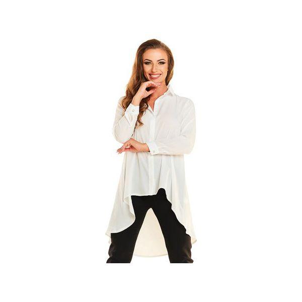 f42b63c14de8db koszula N015 ecru - Koszule damskie Awama. Za 149.00 zł. - Koszule ...