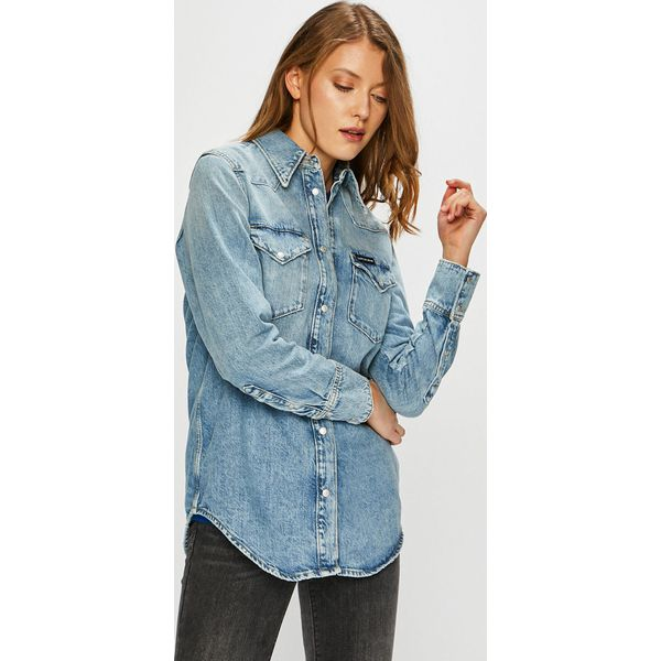 c2bd8e5a8 Calvin Klein Jeans - Koszula - Koszule damskie marki Calvin Klein ...