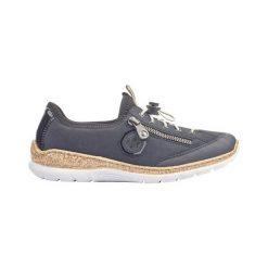 Buty sportowe damskie z siateczką białe rieker n5654