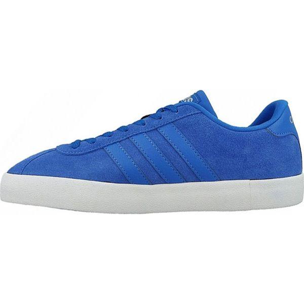 Buty adidas Originals Vl Court Vulc M AW3928 niebieskie