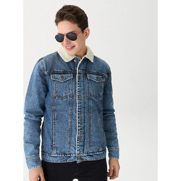247eea075ec0f Ocieplana kurtka jeansowa - Niebieski - Kurtki damskie marki House ...