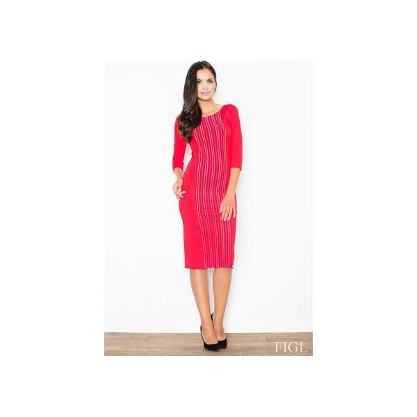 251d94b991 Sukienka M411 Czerwony - Sukienki damskie marki Figl. Za 139.00 zł ...