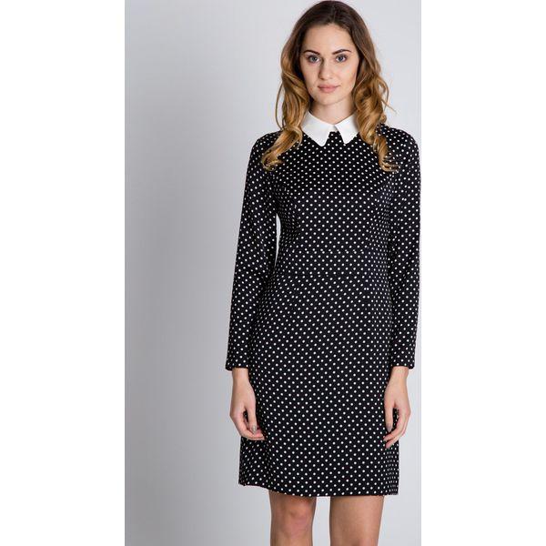 cd7e45df79 Czarno-biała sukienka w groszki BIALCON - Sukienki damskie marki ...