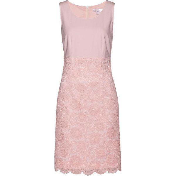 680d5865 Sukienka ołówkowa bonprix pastelowy jasnoróżowy