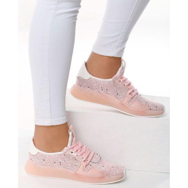 Różowe Buty Sportowe Impersonation