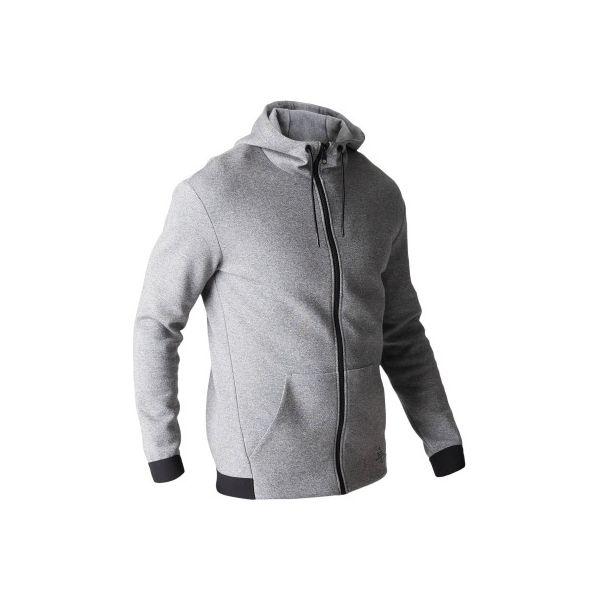 b0045c659 Bluza na zamek z kapturem Gym & Pilates 560 męska - Bluzy z kapturem męskie  DOMYOS. W wyprzedaży za 74.99 zł. - Bluzy z kapturem męskie - Bluzy i  swetry ...