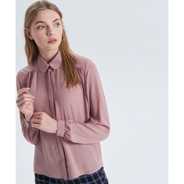 777566284778 Gładka koszula - Różowy - Koszule damskie marki Cropp. Za 69.99 zł ...