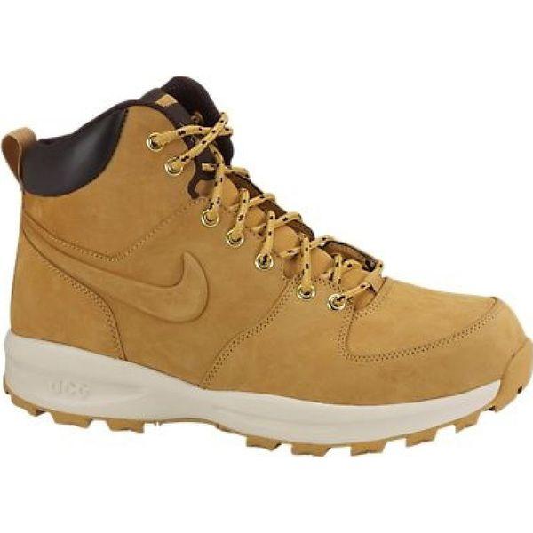 szczegóły dla niskie ceny świetna jakość Buty zimowe Nike Manoa Leather 454350-700 brązowe