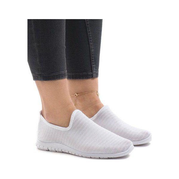 Białe obuwie sportowe 909 17