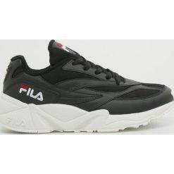 Czarne buty sportowe męskie Fila, na sznurówki Kolekcja