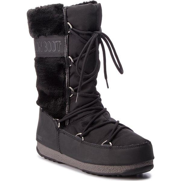 0b1f67d3 Śniegowce MOON BOOT - Monaco Hi Fur 24008400001 Black - Śniegowce damskie  Moon Boot. W wyprzedaży za 589.00 zł. - Śniegowce damskie - Obuwie zimowe  damskie ...