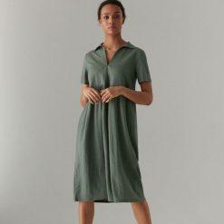 6dc91e8d0e Midi sukienka typu t-shirt - Khaki. Sukienki damskie marki Mohito. Za 129.99