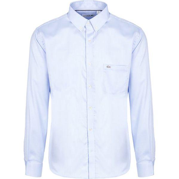 713aea5eb Koszula w kolorze jasnoniebieskim - Koszule męskie marki Lacoste. W  wyprzedaży za 299.95 zł. - Koszule męskie - Odzież męska - Mężczyzna -  Sklep Super ...