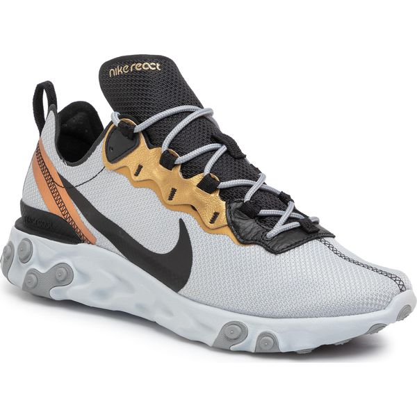 Buty NIKE React Element 55 CD7627 001 Pure PlatinumBlack