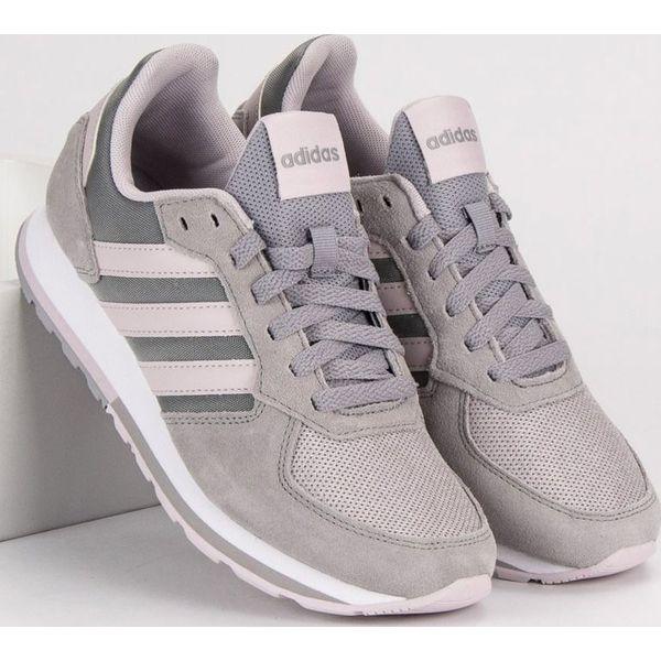 piękno tani nowy koncept Adidas Buty damskie 8K szare r. 36 2/3 (B43793)