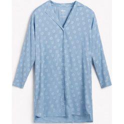 47437eff070d1e Koszula nocna z wiskozy Disney - Niebieski. Koszule nocne damskie Reserved.  W wyprzedaży za