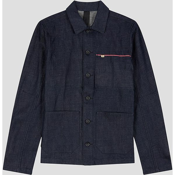 Dżinsowa kurtka w kolorze granatowym