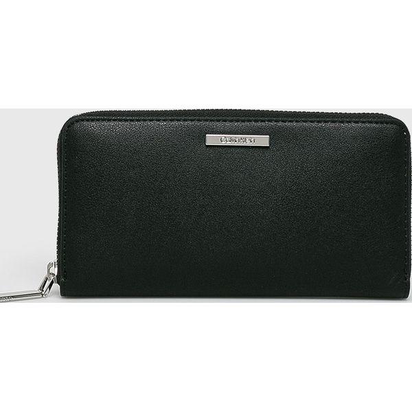 a0a571b1b121f Calvin Klein - Portfel - Czarne portfele damskie marki CALVIN KLEIN ...
