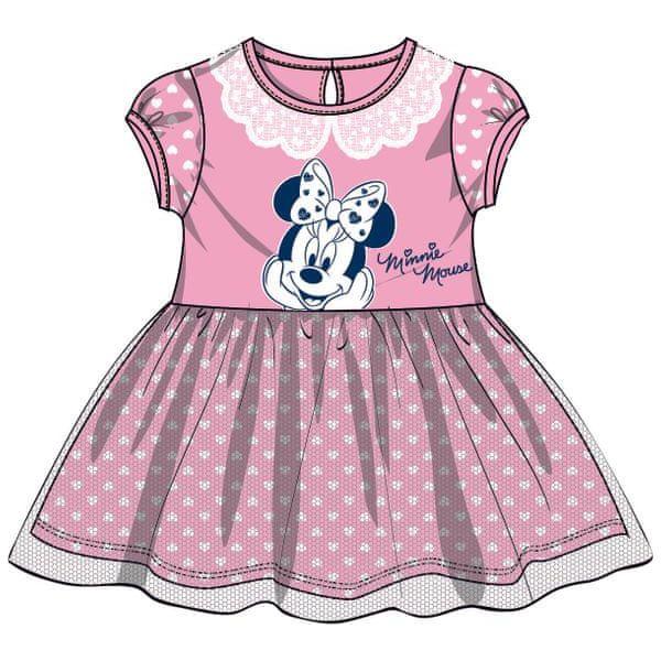 38339a7f20 Disney By Arnetta Sukienka Dziewczęca Minnie 140 Różowa - Sukienki ...